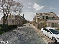 112 melding Politie naar Dorpsstraat in Molenaarsgraaf vanwege voertuigen te water