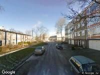 112 melding Brandweer naar Schouwstraat in Leeuwarden vanwege brand
