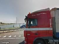 Brandweer naar Afsluitdijk in Kornwerderzand