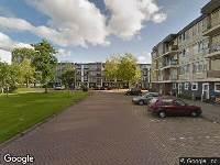 112 melding Brandweer naar Invasiestraat in Leeuwarden vanwege verkeersongeval