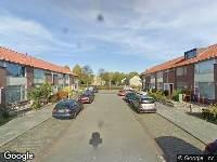 112 melding Ambulance naar Pieter Densstraat in Breda