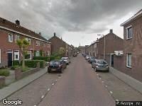 Ambulance naar Eikstraat in Tilburg