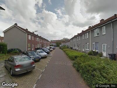 Ambulance naar Roerdompstraat in Dordrecht