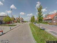 112 melding Ambulance naar Kerkweg in Brandwijk vanwege brand