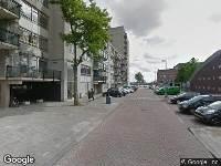 Traumahelikopter naar Dempostraat in Rotterdam
