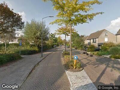 Ambulance naar Waterkerslaan in Oosterhout