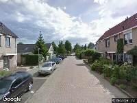 112 melding Ambulance naar Scholeksterstraat in Numansdorp