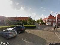 112 melding Brandweer naar Kwartelstraat in Leeuwarden vanwege verkeersongeval