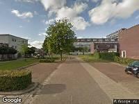 112 melding Brandweer naar Koerierstersespel in Leeuwarden vanwege gebouwbrand