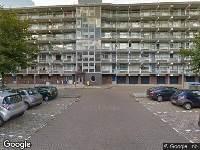 112 melding Brandweer naar Vinkplein in Zwijndrecht vanwege een liftopsluiting