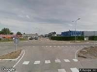 112 melding Brandweer naar Industrieweg in Heerjansdam vanwege een buitenbrand