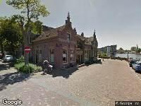 112 melding Ambulance naar Eilandswal in Alkmaar vanwege verkeersongeval