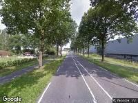 Politie naar Vijf Eikenweg in Oosterhout