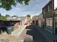 Ambulance naar Sint Josephdwarsstraat in Tilburg