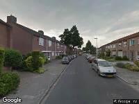 112 melding Brandweer naar Gouverneurstraat in Heerlen