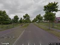 112 melding Brandweer naar Langesân in Leeuwarden vanwege brand