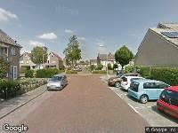 112 melding Brandweer naar Hoveniersstraat in Zwijndrecht vanwege een buitenbrand