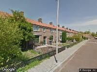 112 melding Brandweer en politie naar Watermuntstraat in Arnhem