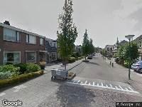 112 melding Brandweer naar Fluitersstraat in Veenendaal vanwege voertuigbrand