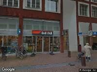 Brandweer naar Achterom in Dordrecht vanwege brand
