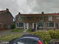 112 melding Brandweer naar Staringstraat in Zwijndrecht vanwege een buitenbrand
