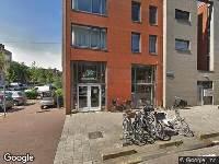 Ambulance naar Balboastraat in Amsterdam