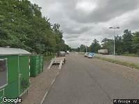 112 melding Ambulance en brandweer naar Bok de Korverweg in Amsterdam vanwege brand