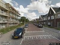 112 melding Brandweer naar Weeresteinlaan in Utrecht vanwege verkeersongeval