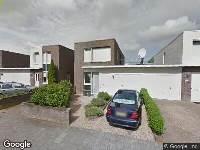 Politie naar Beeldsnijderstraat in Zwolle vanwege letsel