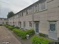 112 melding Brandweer naar Korteweghof in Amsterdam