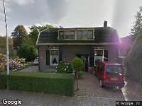 112 melding Brandweer naar Graaf van Lynden van Sandenburgweg in Cothen vanwege verkeersongeval
