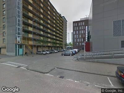 Ambulance naar Wevershoekstraat in Rotterdam