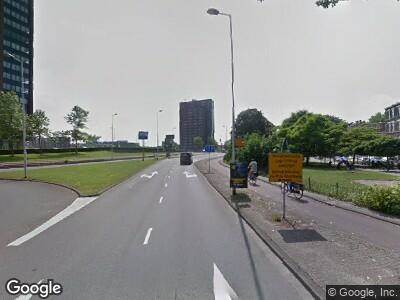 Ambulance naar Rochussenstraat in Rotterdam
