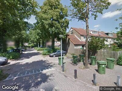 Brandweer naar Valeriaanstraat in Almere
