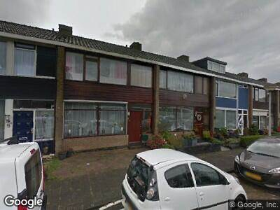 Ambulance naar Johannes Vermeerstraat in Spijkenisse