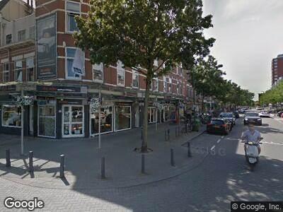Brandweer naar Lusthofstraat in Rotterdam vanwege brand