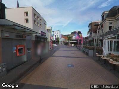 Brandweer naar Kerkplein in Zandvoort vanwege brand