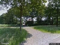 Politie naar Wellenseind in Lage Mierde vanwege ongeval met letsel