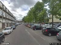 112 melding Brandweer naar Van Ollefenstraat in Amsterdam