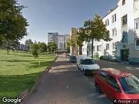 Traumahelikopter naar Speelmanstraat in Rotterdam