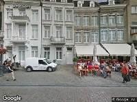 Brandweer naar Vrijthof in Maastricht