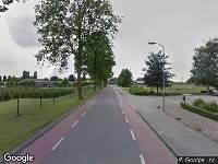 Ambulance naar Dorpstraat in Groessen