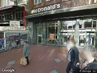 Ambulance naar Markt in Eindhoven