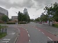 Politie naar Gombertstraat in Zwolle