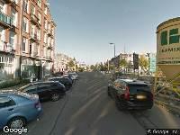 Ambulance naar Kwakersstraat in Amsterdam