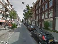 Ambulance naar Eerste Jan Steenstraat in Amsterdam