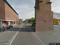 Ambulance naar Olympisch Stadion in Amsterdam