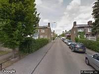 112 melding Ambulance naar Stellendamstraat in Rotterdam