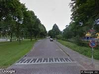 Politie naar Lassuslaan in Zwolle