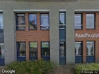 112 melding Ambulance naar Raadhuisplein in Hoeven